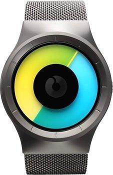 [Valmano] Mal etwas aussergewöhliches: Ziiiro Celeste Gunmetal Colored Z0005WGYG zeigerlose Uhr für 92,88€ incl.Versand!