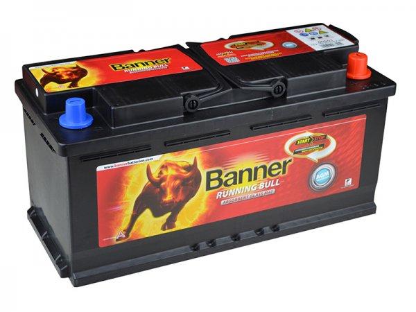 Banner Running Bull AGM 60501 12V 105Ah 950A | Batterie @ebay.de für 146,90€ inkl. Pfand