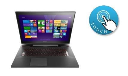 "Lenovo IdeaPad Y70-70 Touch 80DU000XGE, 17"" Notebook, mit Touchscreen 699€ statt 999€ (+9,95€ Versand)"