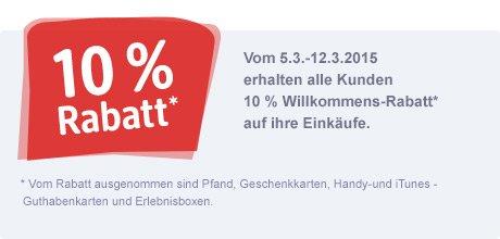 [lokal] dm Neueröffnung Dinslaken 10% auf alles* 5.-12.3.