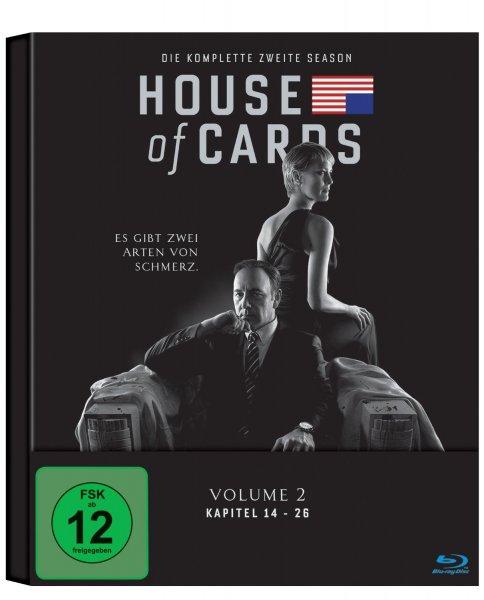 House of Cards - Staffel 1 und 2, jeweils 19,97€ [Blu-Ray] @amazon.de (Prime inkl.Vsk)