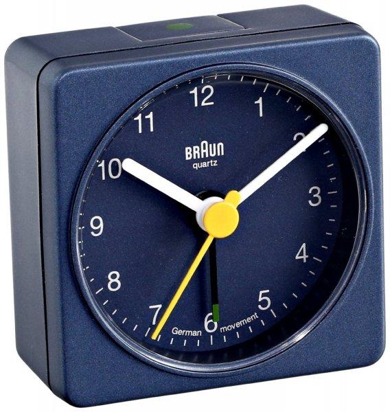 "Braun™ - Analog-Wecker ""BNC002"" (Quarzwerk,Blau) ab €12,66 [@MeinPaket.de]"