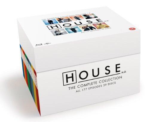 (Amazon.uk) (BluRay) Dr House - Komplette Serie
