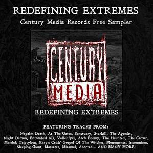 "CENTURY MEDIA RECORDS ""Redefining Extremes"" Sampler als kostenloser Download"