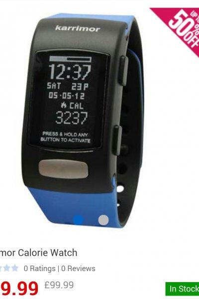 karrimor calorie Watch für 49.99£