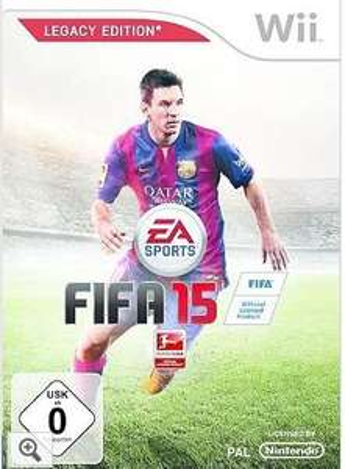 EA Wii - Spiel »Fifa 15«