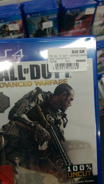 Call of Duty Advanced Warfare PS4 Media Markt Potsdam - lokal? -