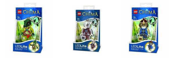 "Lego™ - Legends of Chima: Schlüsselanhänger ""LED Lite"" (Cragger,Worriz,Laval) ab €5,35 [@Zavvi.de]"