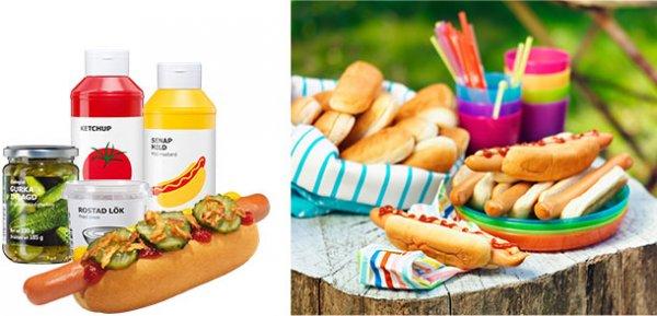 Wieder verfügbar: IKEA (bundesweit): Hotdog-Party-Paket, 32 Hotdogs für 19,95 Euro (offline)
