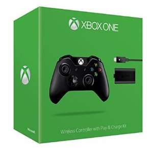 [SATURN Abholung] Xbox One Wire­less Con­trol­ler + Play & Charge Kit eff.für Controller 31,-EUR