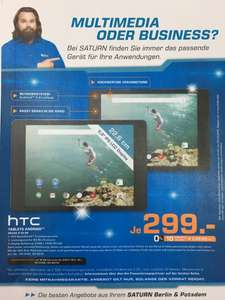 (Lokal) Saturn Berlin & Potsdam HTC Nexus 9 WiFi 16GB für 249€ & 32GB für 299€