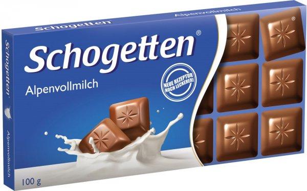 Kaufland - Schogetten Schokolade 100g für 0,49 € statt 0,75 €