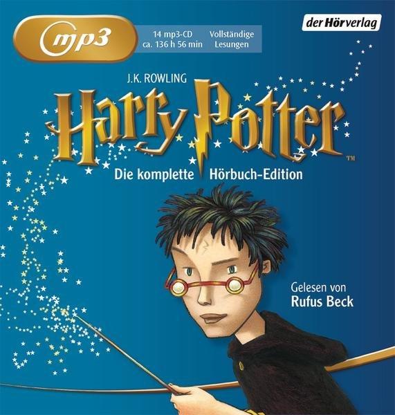 Harry Potter Gesamtausgabe (Hörbuch, Rufus Beck) mp3 CDs