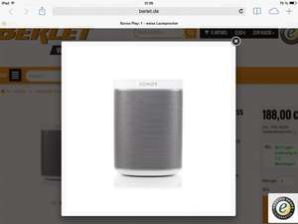 Sonos Play 1 weiß
