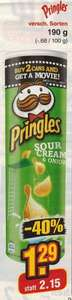 [NETTO ohne Hund] Pringles 190g vom 02.03. bis 07.03.