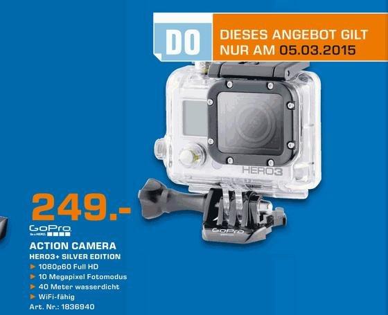 Saturn, Wuppertal, verschiedene Angebote nur am Donnerstag - GoPro HERO3+, Fritzbox 7490, XBOX ONE Controlller