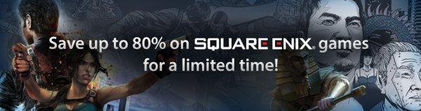 [Humble Store] Bis 80% Nachlass auf alles von Square Enix