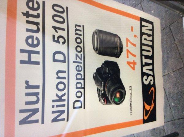 NIKON D5100+18-55mm VR+55-200mm VR, Lokal, München , Saturn, Neuhauserstraße, Angeblich nur heute