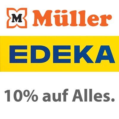 [lokal Stuttgart] 10% Rabatt bei Edeka und Müller am 28.02.2015
