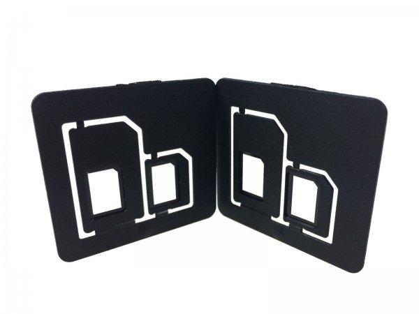 eBay: Multi SIM-Karten Adapter Doppelpack für Nano SIM . STABILE AUSFÜHRUNG @ 1 Euro inkl. Versand