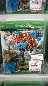 Lokal MM Ingolstadt Sunset Overdrive DayOne XBox One