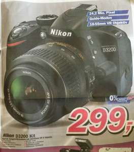 [Lokal: Telepoint Oldenburg] Nikon D3200 Kit mit 18-55mm