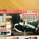 Lokal Berlin Obi €29,99 Bosch PWS 650 Winkelschleifer & 5 Schruppscheiben