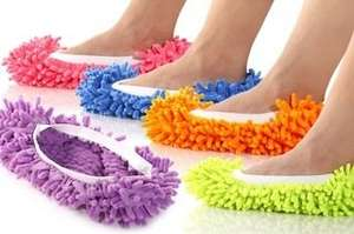 Mop Slippers in verschiedenen Farben @ Groupon