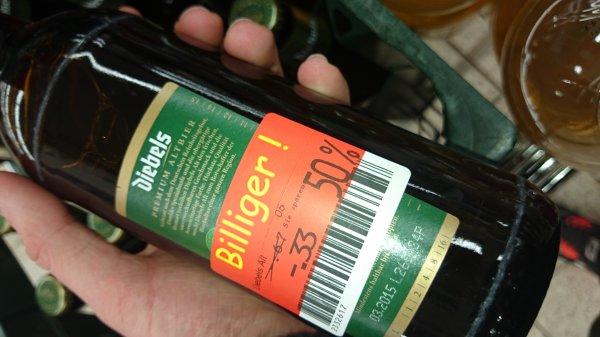 Diebels Bier 20 x 0,5 Liter @Kaufland Solingen