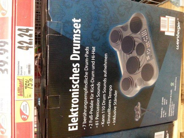 Weinberger Elektronisches Schlagzeug @ Kaufland Dachau 75 % reduziert (evtl. bundesweit)