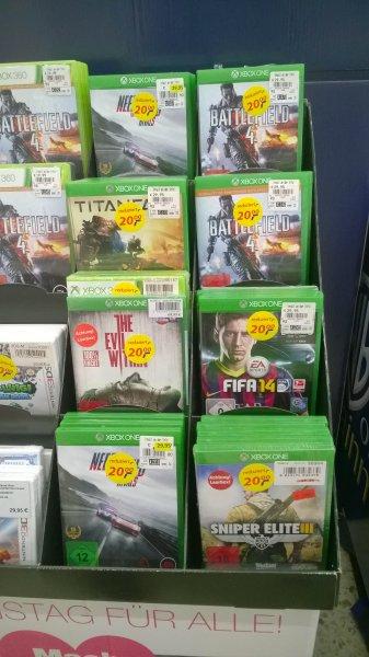 [lokal real.- Neuss] XBOX One & PS4 Spiele 20€