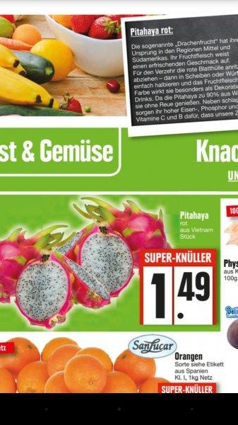 Drachenfrucht Edeka München