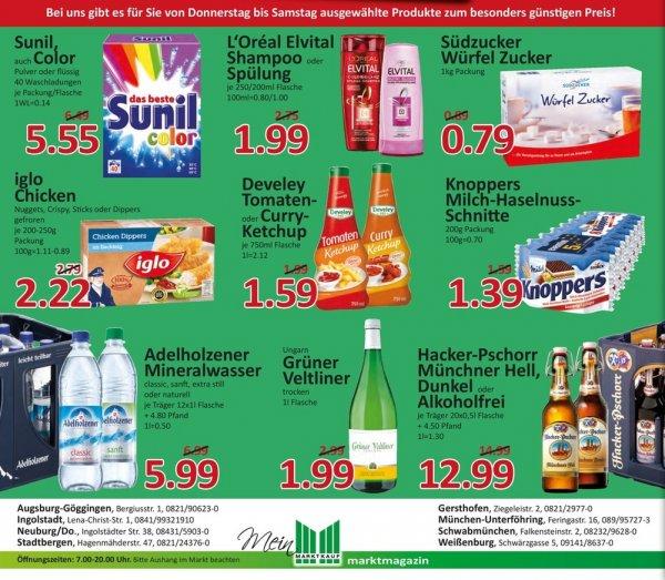 [Marktkauf Süd 05.-07.März] Knoppers 8er Pack + 5€ eventim GS für 1,39€