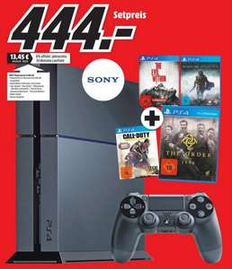 [Lokal] Media Markt Mönchengladbach Playstation 4 PS4 + The Evil Within + the Order 1886 +Mordors Schatten + CoD Advanced Warfare