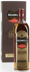 Bushmills 1608 Irish Whiskey Anniversary Edition 46% 70cl (31,19 Euro pP)