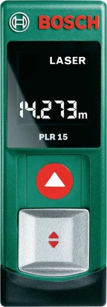 Bosch PLR 15 Laser-Entfernungsmesser @Voelkner 36,77 € mit Gutschein VE5783MPL [mit Zahlungsart Sofortüberweisung 31,82 €]