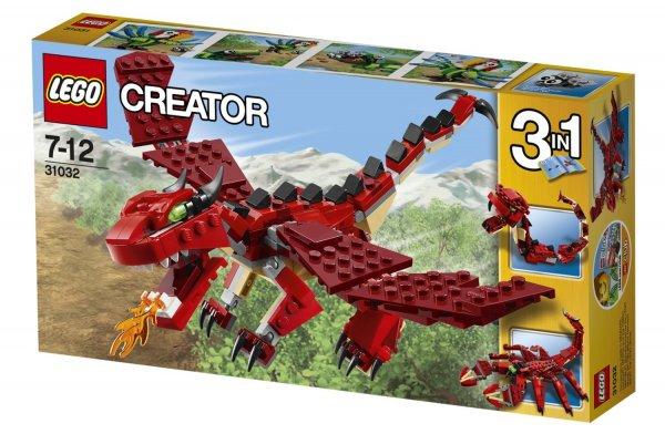 [offline] Lego Creator - Red Creatures (31032) und andere @ Rossmann