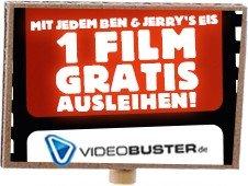 Gratis Videobuster Verleihpaket für 2 DVD´s