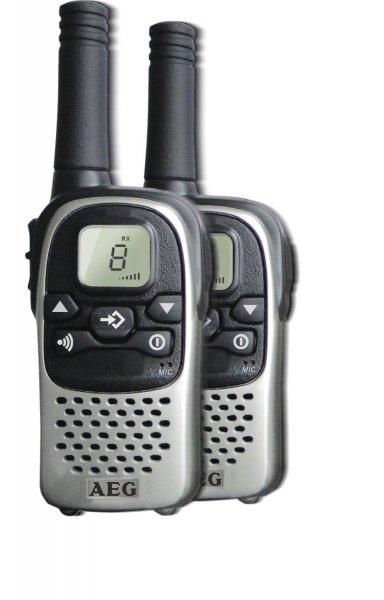 [Blitzangebot] AEG PMR-Funkgeräte Voxtel R110 545002 PMR Voxtel R110 (5KM Reichweite) für 29,99€ frei Haus @Voelkner