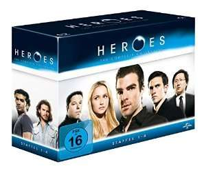 Heroes - Gesamtbox/Season 1-4 auf 17 Blu-Rays für 39,97 EUR inkl. Versand (anstatt 64,99€)
