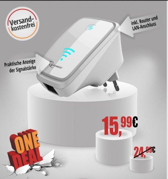 Gembird WiFi N300 Repeater@One.de 15,99 €