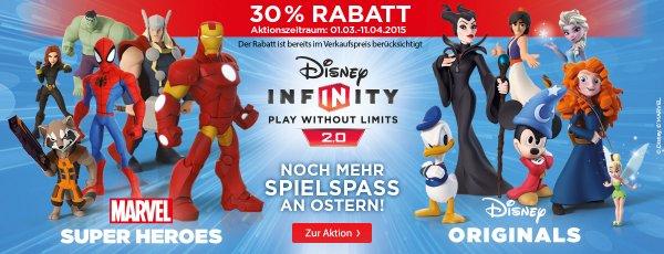 [Müller] 30% auf Disney Infinity 2.0 Produkte (Starter Sets für 27,99€)