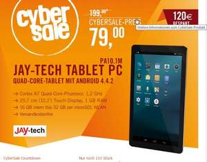 Jay-Tech PA10.1M Quad-Core Android Tablet Cyberport Cybersale