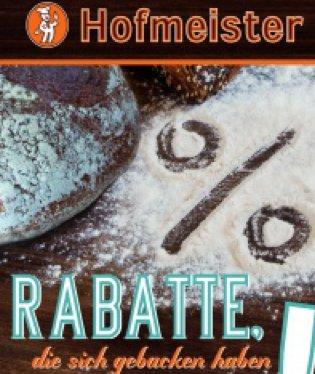 Hofmeister Bäckerei nette Rabatte