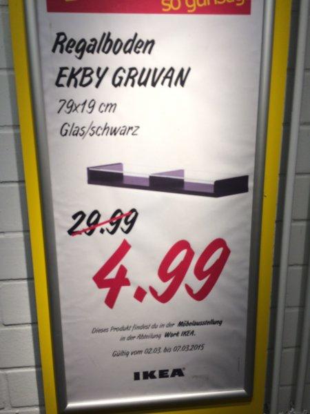 IKEA Kassel EKBY GRUVAN Regalboden