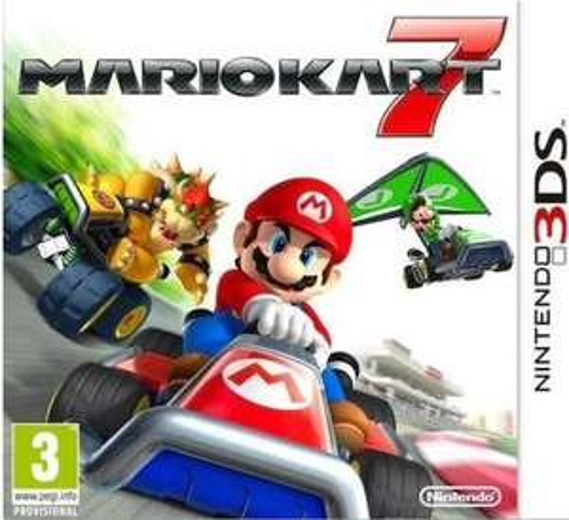 Mario cart für 3DS Download Voucher