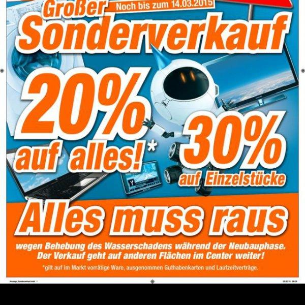 20% auf alles bei expert [lokal Dinslaken] (zB. iPhone 6 für 540€)