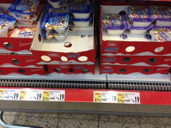 (Kaufland in Erkelenz) Müller Joghurt mit der Ecke