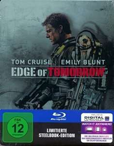 Saturn.de Edge of Tomorrow Blu Ray Steelbook Edition 11.99€