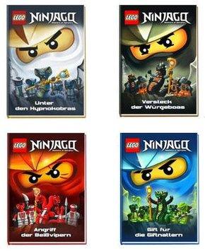 [Terrashop] Lego Ninjago Bücher 4x - gebunden - 13€ - 50% Ersparnis